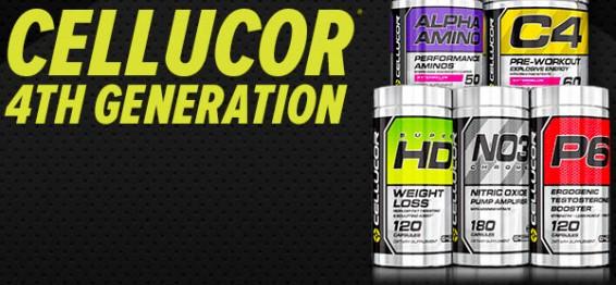 4-то поколение добавки на Cellucor